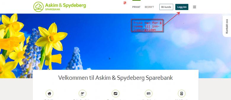 Logg inn Askim og Spydeberg Sparebank 1